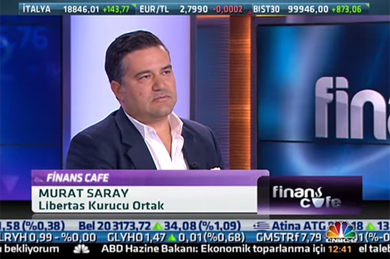 CNBC-E FİNANS CAFE – MURAT SARAY